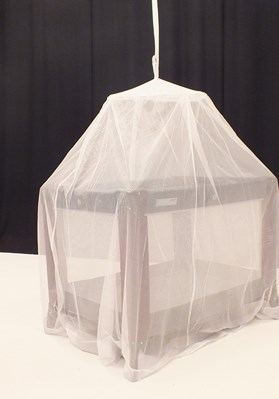 White Mosquito Bell Net For Baby's Cot