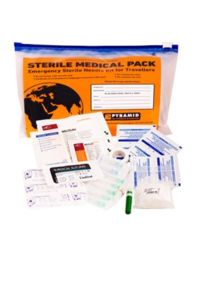 Sterile Medical Pack And Contents