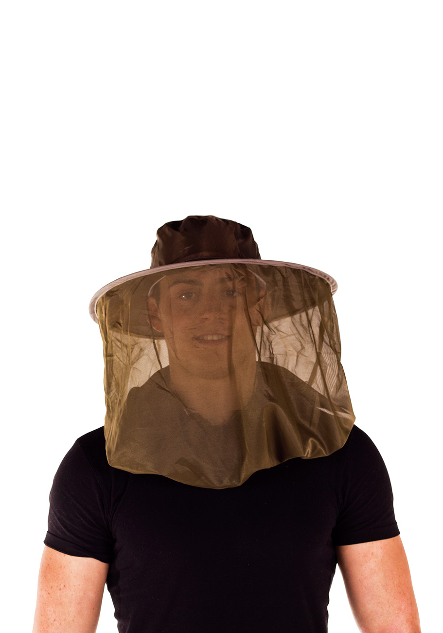 Midge Protection Pop Up Hat And Head Net