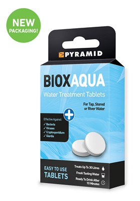 Biox Aqua Water Treatment Tablets New