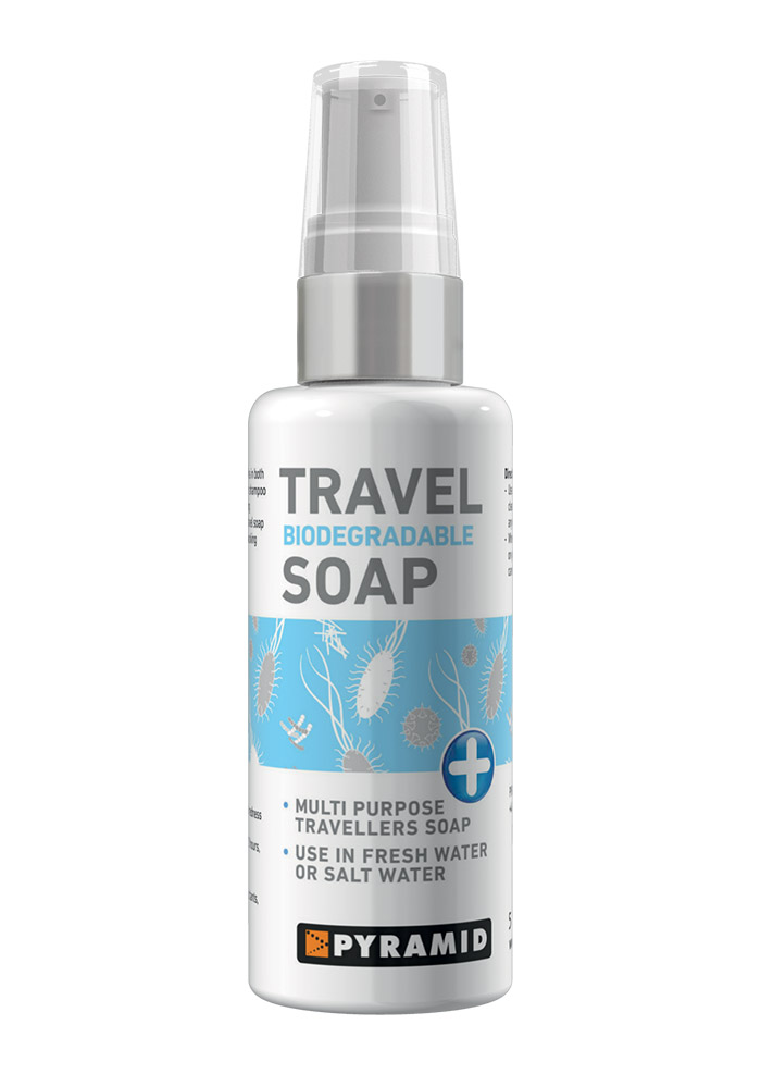 Biodegradable Travel Soap Liquid