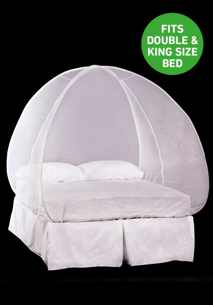 how to use mosquito net for bed
