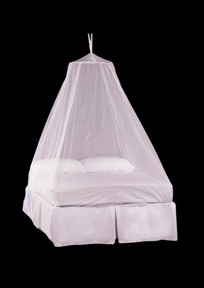 Bell Double Mosquito Net White