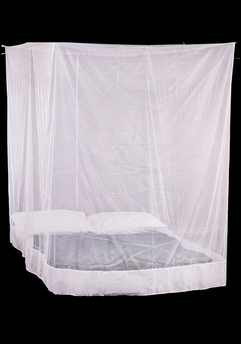 Box Double Mosquito Net White Compressor