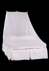 Wedge Double Mosquito Net White